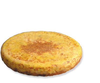 "Catering Spanish "" Tortilla"" with onion"