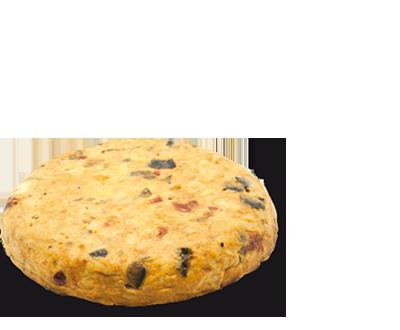 Tortilla de Patata y Pisto